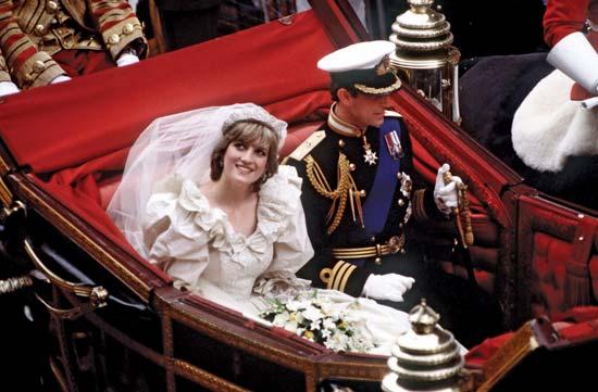 Lady Diana, Princess Diana, Princess of Wales, Prince Charles, Wedding
